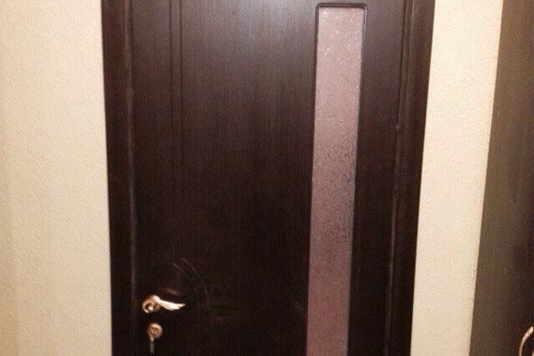 Шпонированные двери (fine-line)