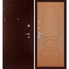 Входная металлическая дверь «МД-09» (светлый дуб)