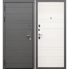 Входная металлическая дверь «МД-39» (белая матовая)