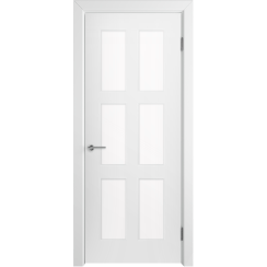 Межкомнатная дверь эмаль классика фреза «Челси 08» (со стеклом)