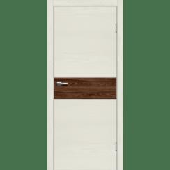 """Межкомнатная дверь экошпон """"Даллас 1 Американский орех"""""""