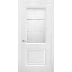 Межкомнатная дверь эмаль классика «Роял 2» (со стеклом)