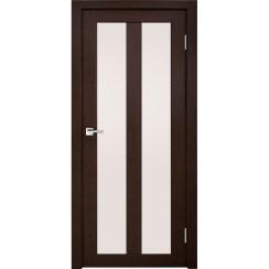 Межкомнатная дверь экошпон Z-5 стекло сатинато
