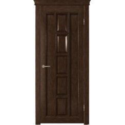 Межкомнатная дверь «Квадра» натуральный шпон (глухая)