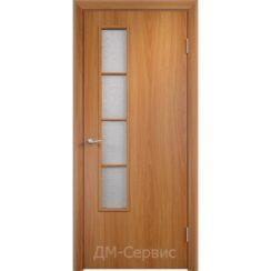 Дверной блок строительный с прямым торцом ДПО 05 ПВХ