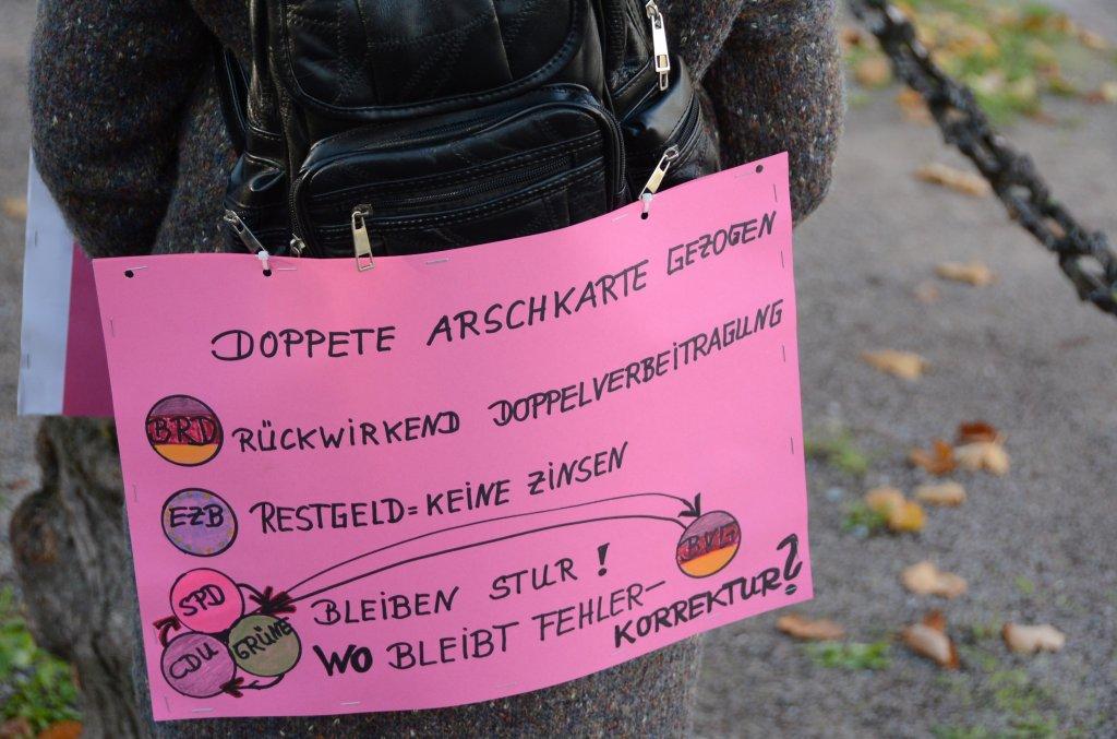 Demo Bundesverfassungsgericht Karlsruhe
