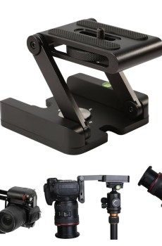 Z-Head Foldable Tripod Head