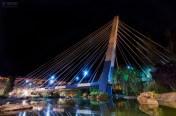 3 de Agosto,Puente Colgante