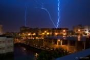 14 de Mayo,Tormenta electrica en Marbella, Proyecto Noche 365