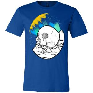 Unisex Skull Mountain T-Shirt
