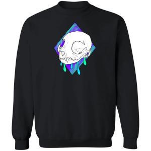 Dripping Cat Crewneck Pullover Sweatshirt