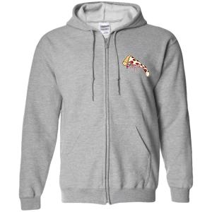 Poesy Zip Up Hooded Sweatshirt