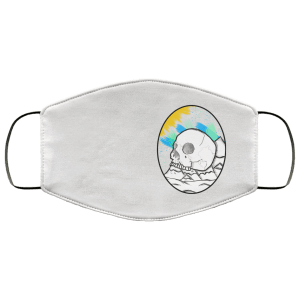 Skull Mountains FMA Face Mask