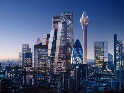 Torre Tulip de Foster + Partners. Nuevo rascacielos en Londres