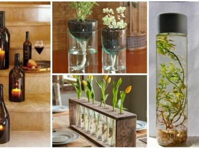 6 Proyectos DIY con frascos y botes de vidrio