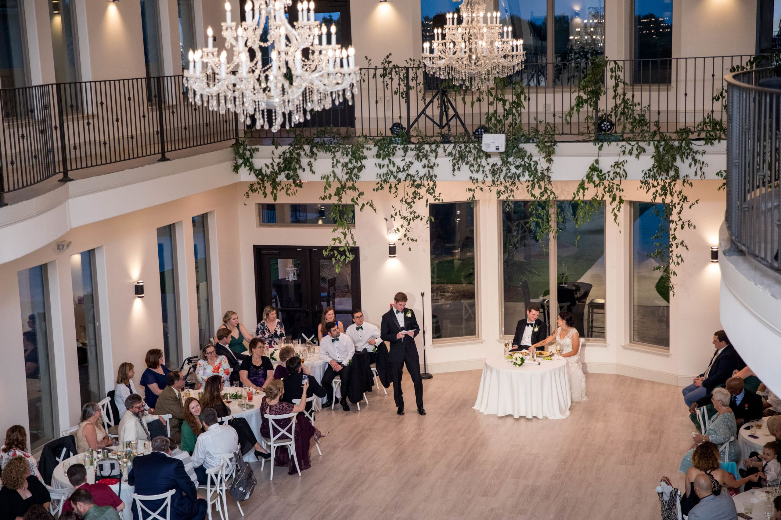 Grand Ballroom at D'Vine Grace Vineyard - Wedding Services