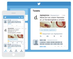 Twitter Ad: Leads auf Twitter