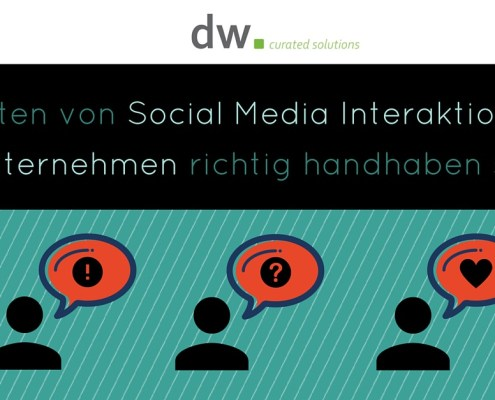 dw curated solutions Social Media Kommunikation B2C