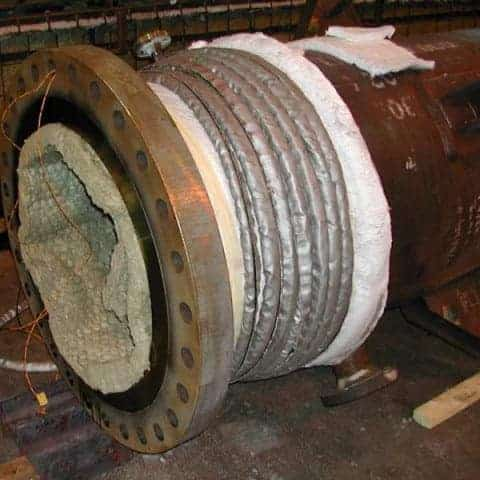 induction preheating welding treatment