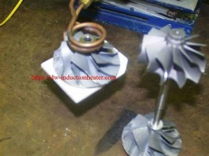 Shrink Fit Aluminum with induction
