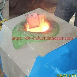 induction melting copper and brass