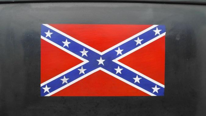 Close Up Of Confederation Flag Print
