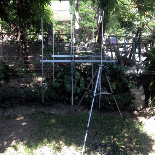3 Elements Twin VHF Yagi (2m Amateur)