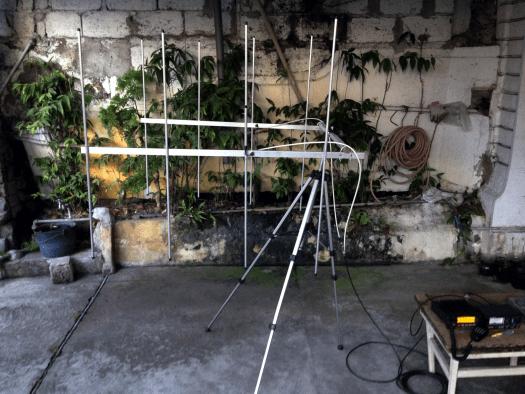 4 Elements Twin Yagi 2m/VHF (Lightweight End Mount)