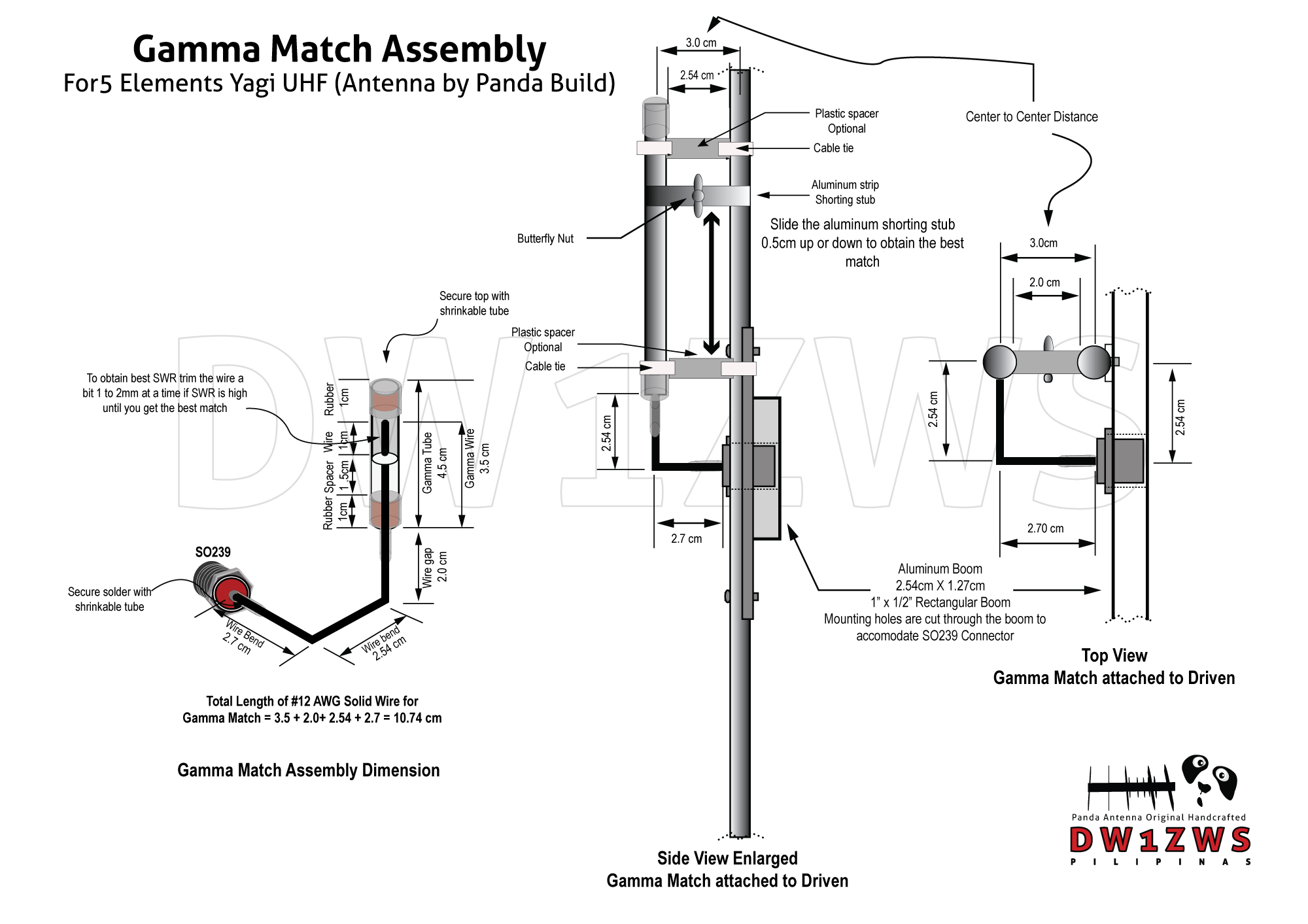 Yagi Antenna Diagram Tv Wiring Building The Gamma Match For Elements Uhf Panda 2000x1200