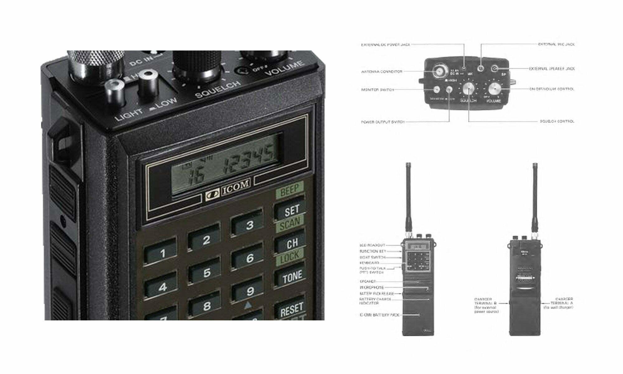icom ic h16 service manual dw1zws panda antenna original rh dw1zws com Icom Instruction Manual Icom Ic-7300 Service Manual