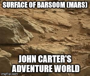 John Carter's Mars