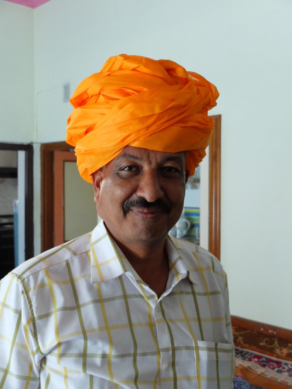 Ram w turbanie