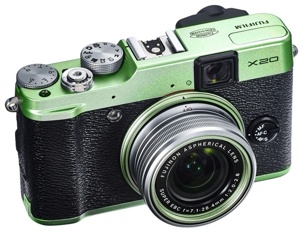 The new X20. I've choosen mine in Green Version. A real great camera for street photography.