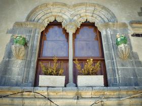 Biforium - czyli arkadowe okno podzielone słupkiem