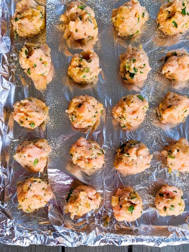 Dwardcooks Italian Turkey Meatballs Weight Watchers Baked