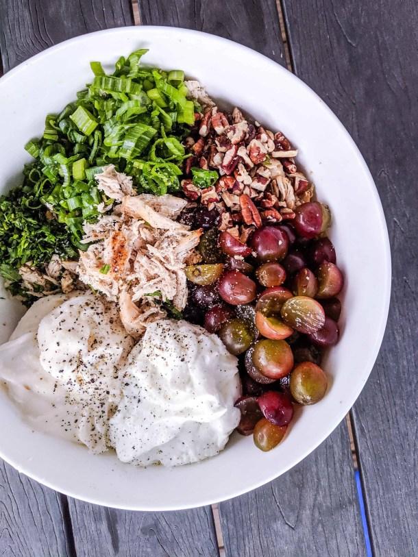 Healthy Pecan Chicken Salad