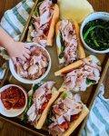 Philly Roast Pork Sandwiches