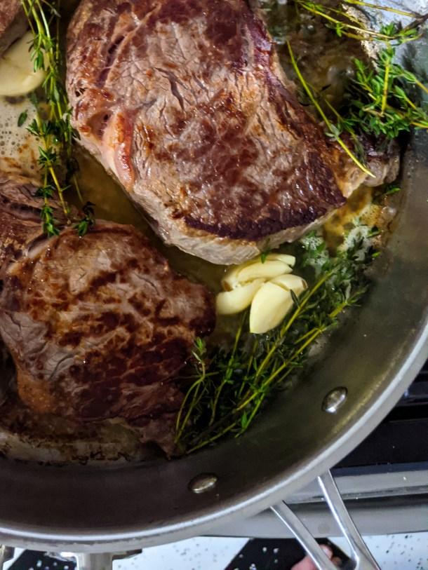 butter baster steak weight watchers