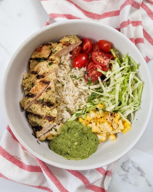 Mojo Chicken Burrito Bowl