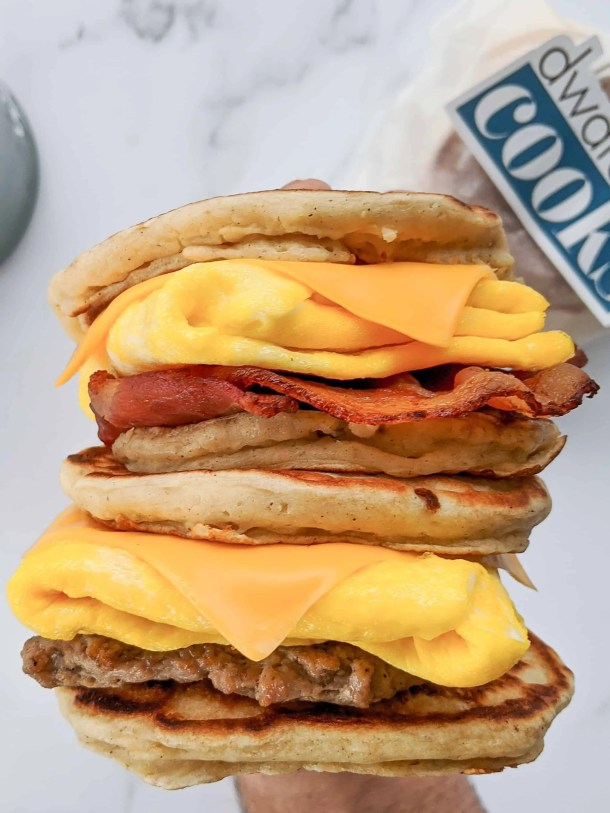 Dwardcooks Healthy Homemade McGriddles for Weight Watchers