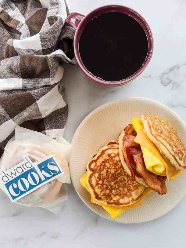Dwardcooks Pancake Breakfast Sandwich