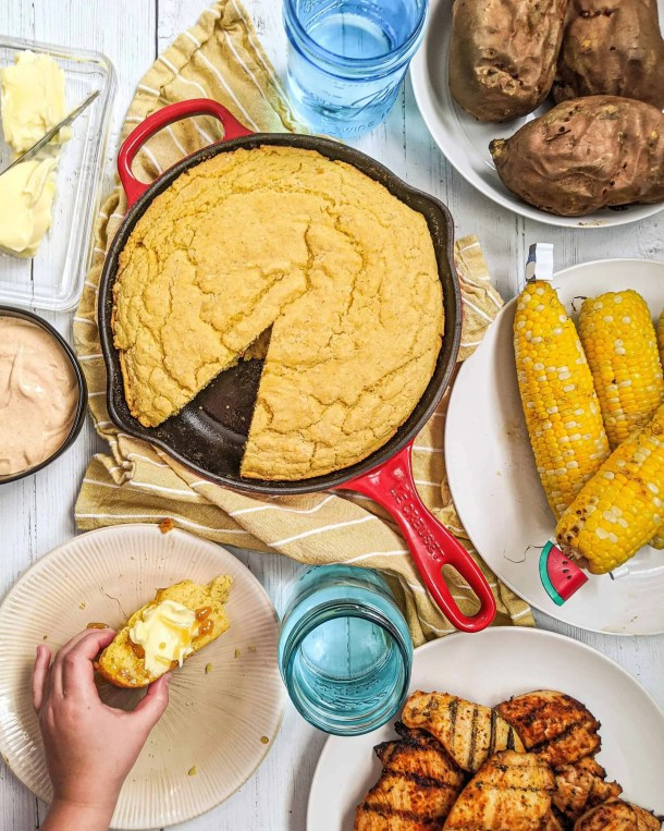Dwardcooks Lightened Up Cornbread