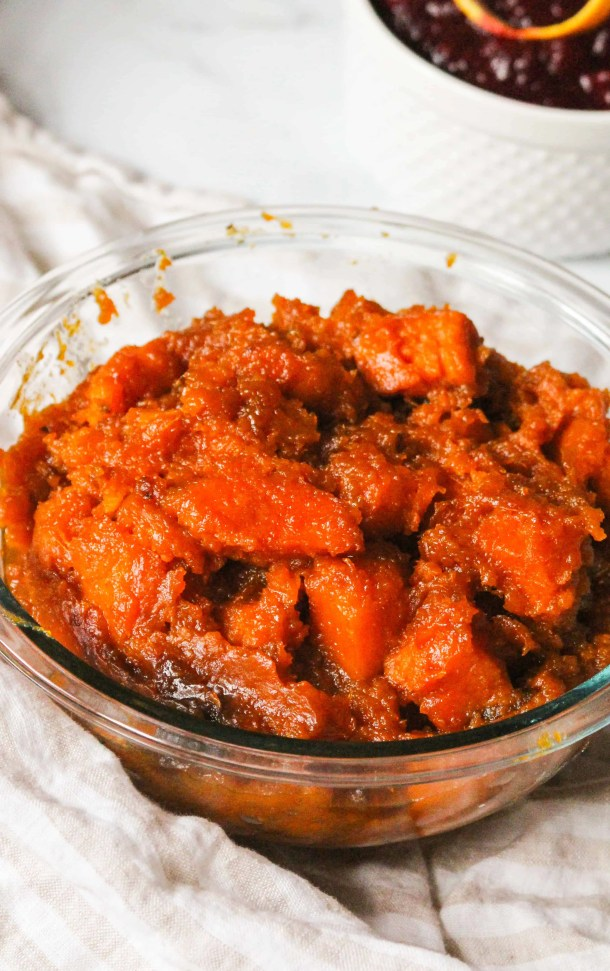 Make Ahead Candied Sweet Potatoes Thanksgiving