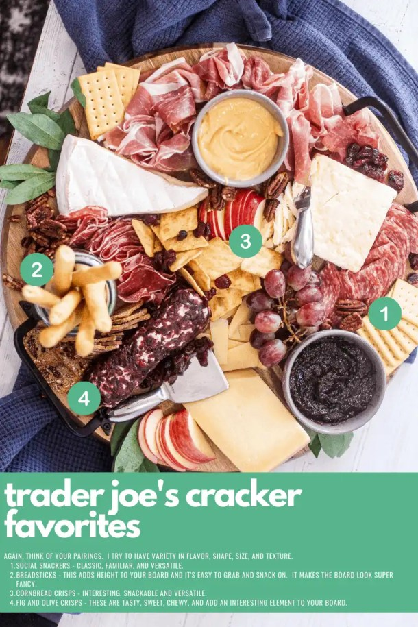 best trader joes crackers for charcuterie boards