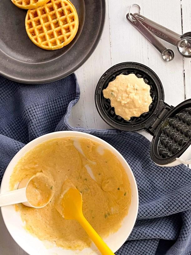 Dash Mini Waffle Maker Corn Bread