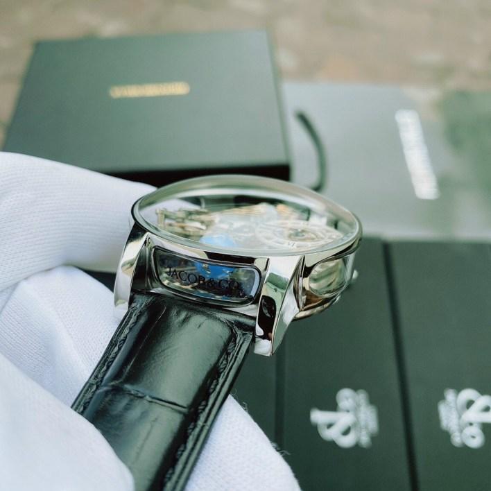 Đồng hồ Jacob & Co nam dây da