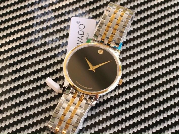 Đồng hồ Movado nam dây kim loại