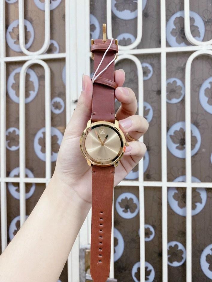 Đồng hồ Movado nam dây da