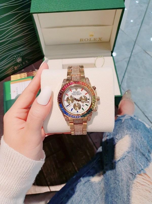 Đồng hồ Rolex nam mặt tròn