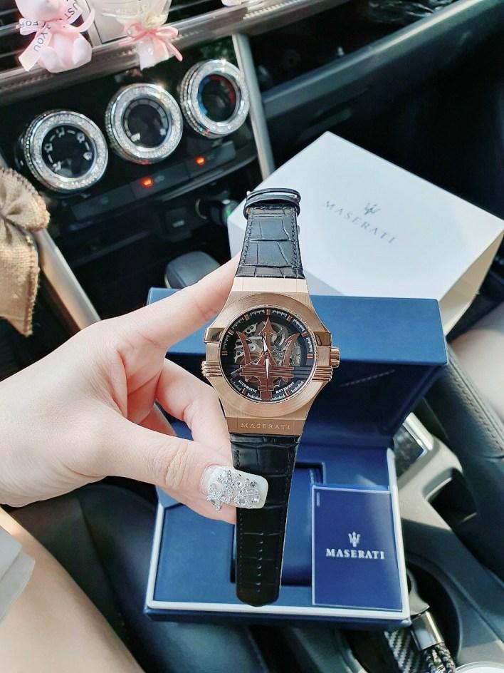 Đồng hồ Maserati nam máy cơ